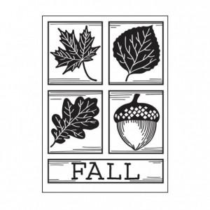 Darice Hintergrund-Prägeschablone - Fall Squares