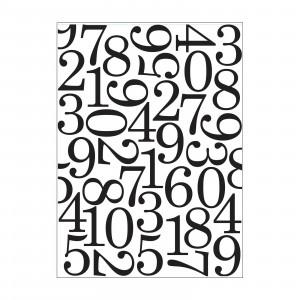 Darice Hintergrund-Prägeschablone - Numbers