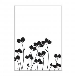 Darice Hintergrund-Prägeschablone - Flowers