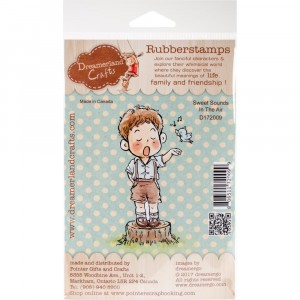 Dreamerland Crafts Cling Stamps - Sweet Sounds In The Air