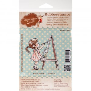 Dreamerland Crafts Cling Stamps - Artistic Friends