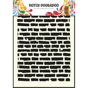 Dutch Doobadoo Mask Art Stencil A5 - Steine
