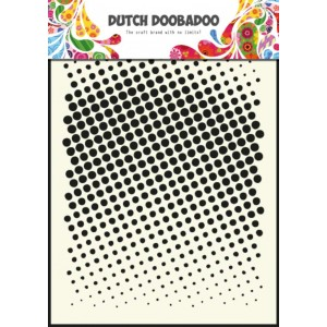 Dutch Doobadoo Mask Art Stencil A5 - Faded Dots