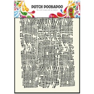 Dutch Doobadoo Mask Art Stencil A5 - Sackleinen