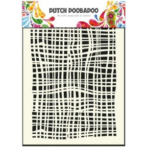 Dutch Doobadoo Mask Art Stencil A5 - Stoff