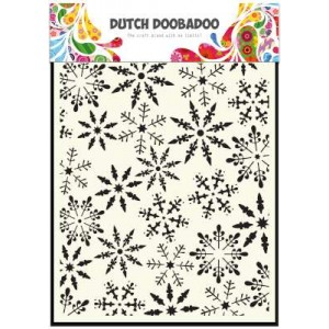 Dutch Doobadoo Mask Art Stencil A5 - Eiskristalle