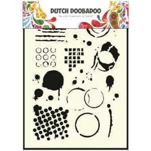 Dutch Doobadoo Mask Art Stencil A5 - Geometrische Muster