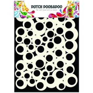 Dutch Doobadoo Mask Art Stencil A5 - Bubbles 2