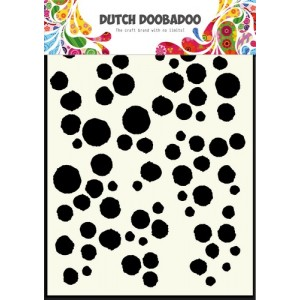 Dutch Doobadoo Mask Art Stencil A5 - Grunge Dots