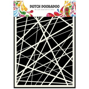 Dutch Doobadoo Mask Art Stencil A5 - Streifen
