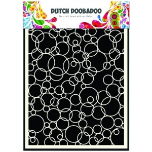 Dutch Doobadoo Mask Art Stencil A5 - Ringe