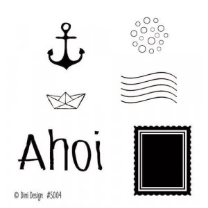 Dini Design Mini Clear Stamps - Ahoi 2