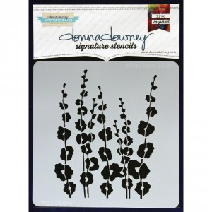 Donna Downey Stencil - Poppy Stems