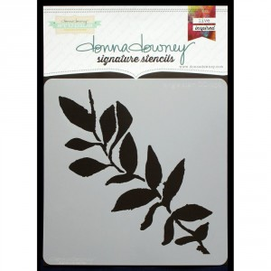 Donna Downey Stencil - Single Stem