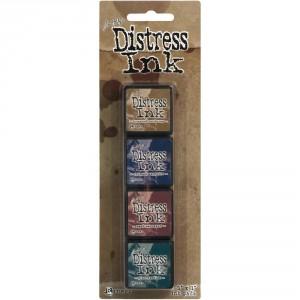 Distress Mini Ink Stempelkissen Kit #12