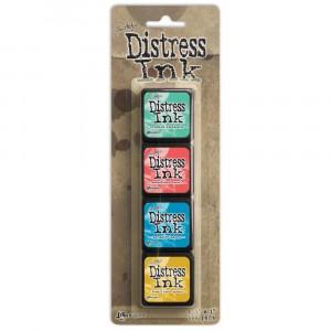Distress Mini Ink Stempelkissen Kit #13