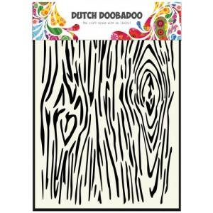 Dutch Doobadoo Mask Art Stencil A5 - Holzmaserung