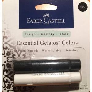 Faber Castell Gelatos Set b&w 2tlg