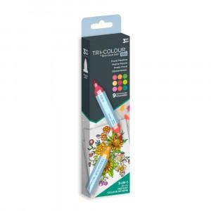 Spectrum Noir TriColour Aqua Markers - Floral Meadow