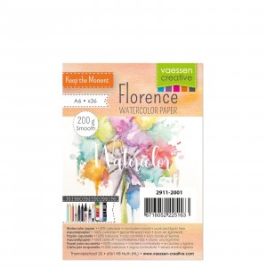 Florence Aquarellpapier Smooth A6 36 Blatt