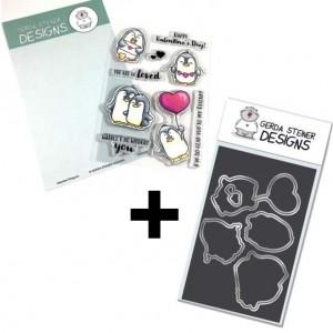 Gerda Steiner Designs - Valentine Penguins Bundle mit 25% Rabatt!