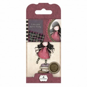 Gorjuss Collectable Rubber Stamp - Santoro - No. 2 New Heights