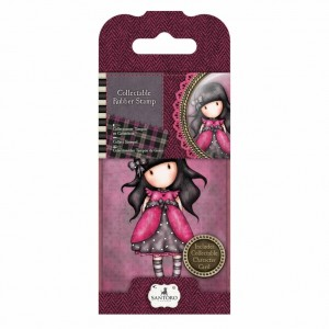 Gorjuss Collectable Rubber Stamp - Santoro - No. 5 Ladybird