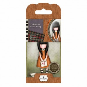 Gorjuss Collectable Rubber Stamp - Santoro - No. 9 I Gave You My Heart