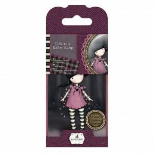 Gorjuss Collectable Rubber Stamp - Santoro - No. 13 Fairy Lights
