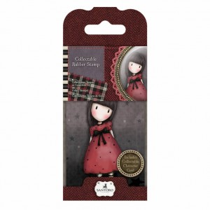 Gorjuss Collectable Rubber Stamp - Santoro - No. 15 The Black Star