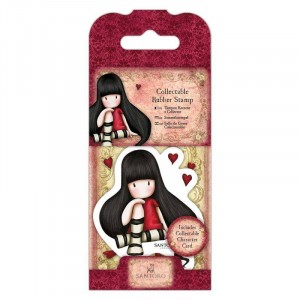 Gorjuss Collectable Rubber Stamp - Santoro - No. 21 The Collector