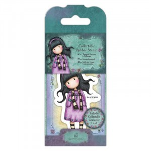 Gorjuss Collectable Rubber Stamp - Santoro - No. 23 Little Song