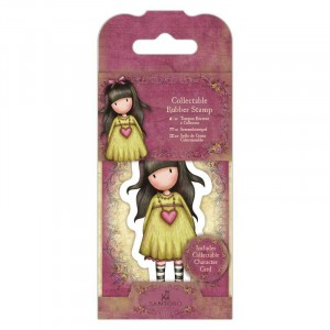 Gorjuss Collectable Rubber Stamp - Santoro - No. 24 Heartfelt