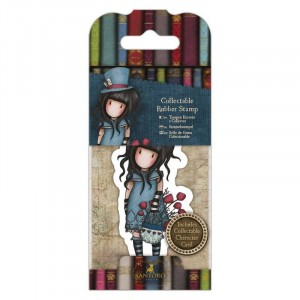 Gorjuss Collectable Rubber Stamp - Santoro - No. 29 The Hatter