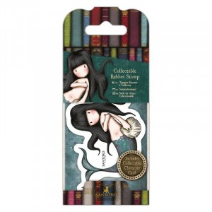 Gorjuss Collectable Rubber Stamp - Santoro - No. 31 Awashed