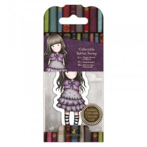 Gorjuss Collectable Rubber Stamp - Santoro - No. 32 Little Violet