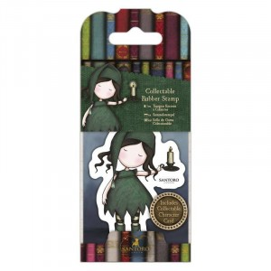 Gorjuss Collectable Rubber Stamp - Santoro - No. 34 Nightlight