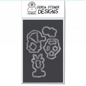 Gerda Steiner Designs - Holiday Friends Stanzschablonen-Set