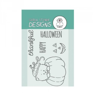 Gerda Steiner Designs Clear Stamps - Pumpkin Kitten