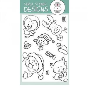 Gerda Steiner Designs Clear Stamps - Peeking Friends