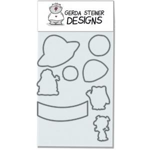 Gerda Steiner Designs - Alien Invasion Stanzschablonen-Set