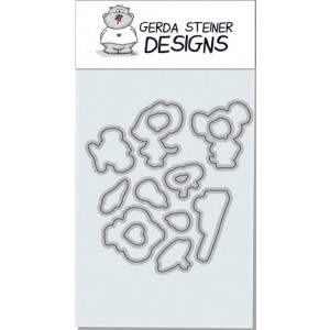 Gerda Steiner Designs - Fall Mice Stanzschablonen-Set