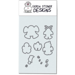 Gerda Steiner Designs - Snow Angel Stanzschablonen-Set