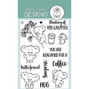Gerda Steiner Design Clear Stamps - You're Koalafied