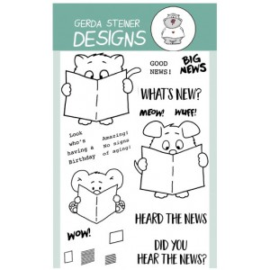 Gerda Steiner Design Clear Stamps - What's new?