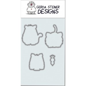 Gerda Steiner Designs - All Cats Stanzschablonen-Set