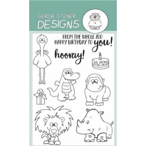 Gerda Steiner Designs Clear Stamps - Party Animals