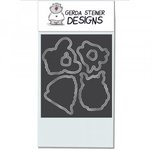 Gerda Steiner Designs - Coffee Monster Stanzschablonen-Set