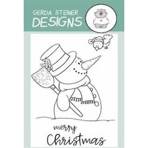 Gerda Steiner Designs Clear Stamps - Snowman with Birdie