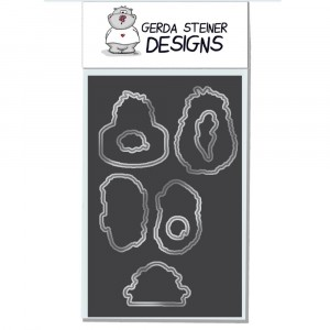 Gerda Steiner Designs - Wheek, wheek, wheek... Guinea Pig Stanzschablonen-Set